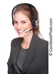 雇員, callcenter, 女性
