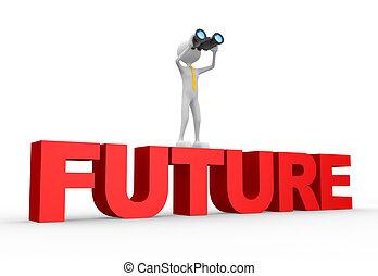 雙目, 詞, 未來