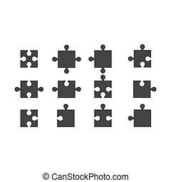 難題, 矢量, 設計, 插圖