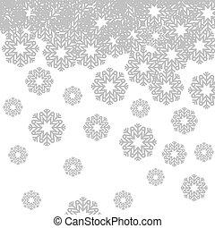 雪花, 圖象, 形狀