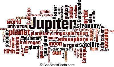 雲, 木星, 詞