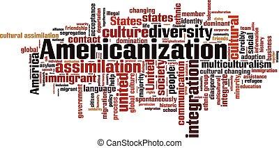 雲, 詞, americanization