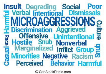 雲, 詞, microaggressions