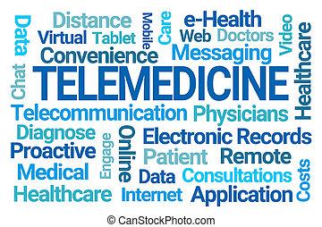 雲, 詞, telemedicine