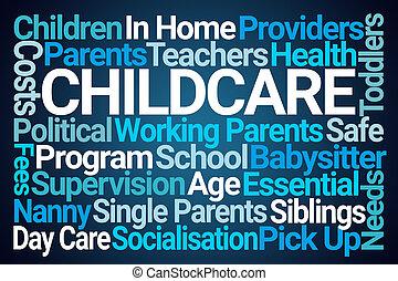 雲, childcare, 詞