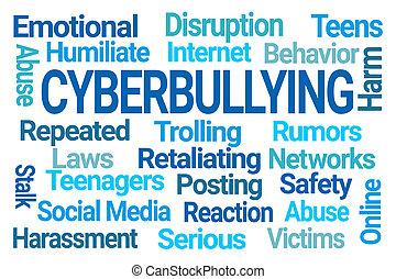雲, cyberbullying, 詞