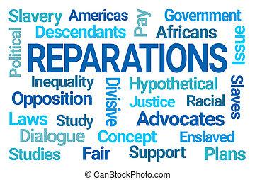 雲, reparations, 詞