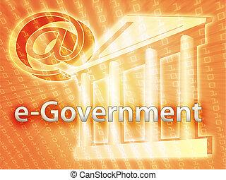電子, 政府