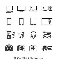 電子, 設備, 圖象