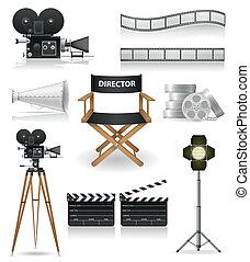 電影攝影學, 圖象, 集合, 電影院