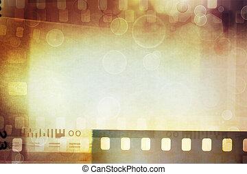 電影, 負值, 背景