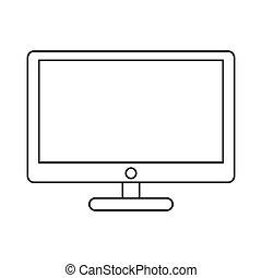 電腦監視器, 圖象
