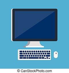 電腦 老鼠, 監控, 鍵盤