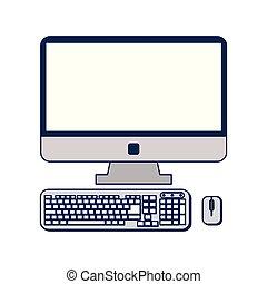 電腦 老鼠, 鍵盤