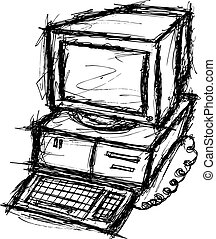 電腦, grunge