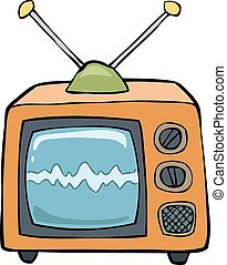 電視, 卡通
