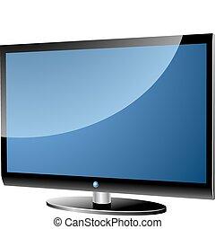 電視, 寬闊的螢幕