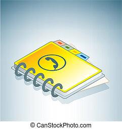 電話簿, 黃色