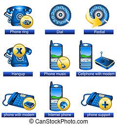 電話, 2, 圖象