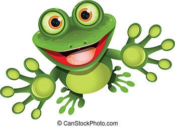 青蛙, 愉快