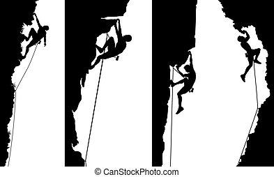 面板, 登山運動員, 邊