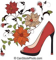 鞋子, 婦女` s