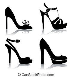 鞋子, 彙整