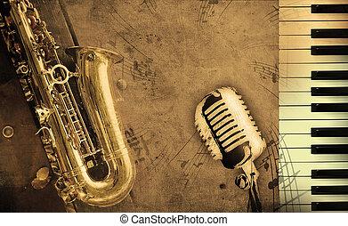 音樂, 骯髒, 背景