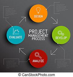 項目, 過程, 概念, 方案, 管理