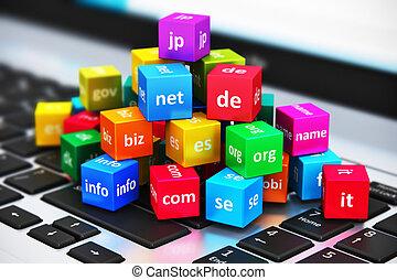 領域, 概念, 名字, 網際網路