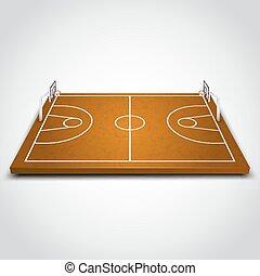 領域, 清楚, 籃球
