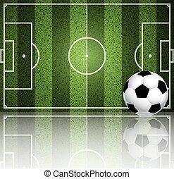 領域, 足球, 背景