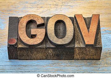 領域, gov, 點, 網際網路