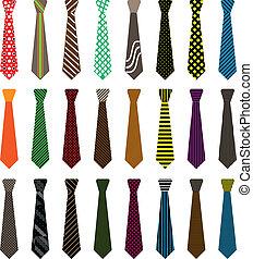 領帶, 人, 插圖