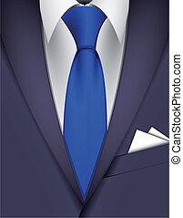 領帶, 衣服