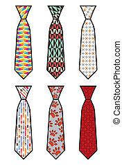 領帶, 集合