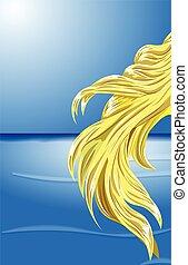 頭髮, 金