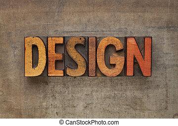 類型, 設計, 詞, letterpress