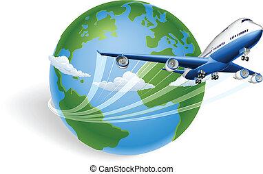 飛機, 概念, 全球
