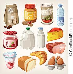 食物產品, 彙整