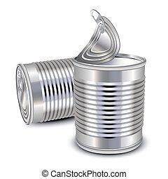 食物, 錫罐
