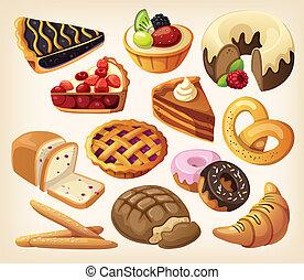 餅), 集合, 產品, 麵粉