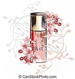 香水瓶子, 插圖, 時裝