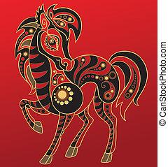 馬, 漢語, horoscope., 年