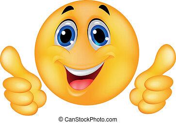 高興的表面, 笑臉符, emoticon