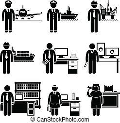 高, 專業人員, 工作, 收入