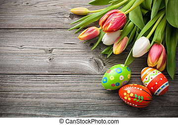 鬱金香, 蛋, 復活節