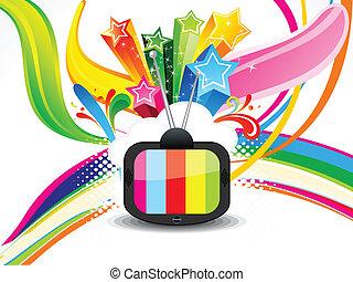 鮮艷, 電視, 摘要