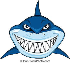 鯊魚, 微笑