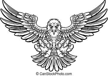 鷹, 凶猛